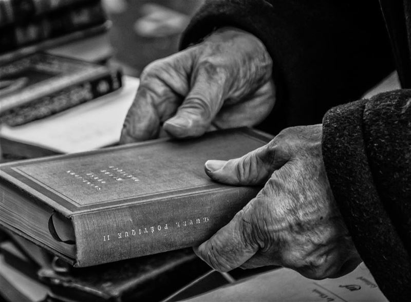 The book...shot in  paris  fleamarket  france  lespuces  hands ...