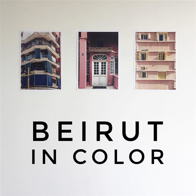 🌈 BEIRUT IN COLOR ☀️This holiday season brings a series of limited... (Beirut, Lebanon)