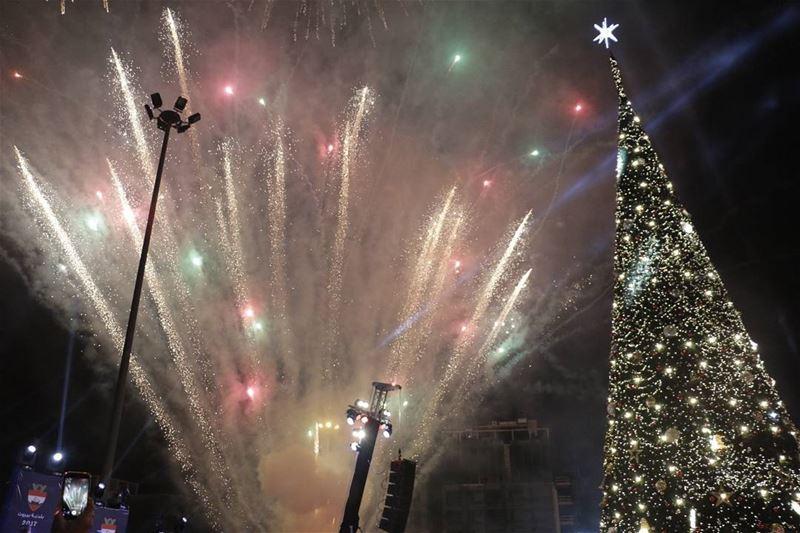 Christmas Spirit in Beirut... thisislebanon79 lebanon hd_lebanon ... (Downtown Beirut)