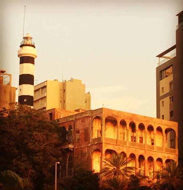 Old places have soul.Sarah Anderson lebanon beirut manara beyrouth ... (المنارة - بيروت)