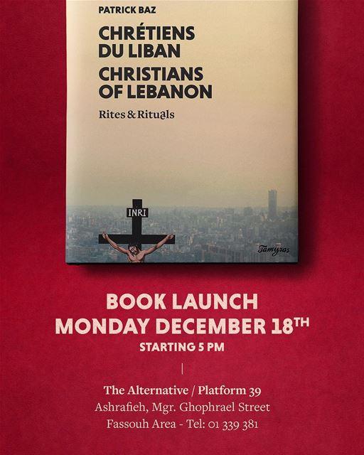 Good morning Beirut. booklaunch photographybook christiansoflebanon ...