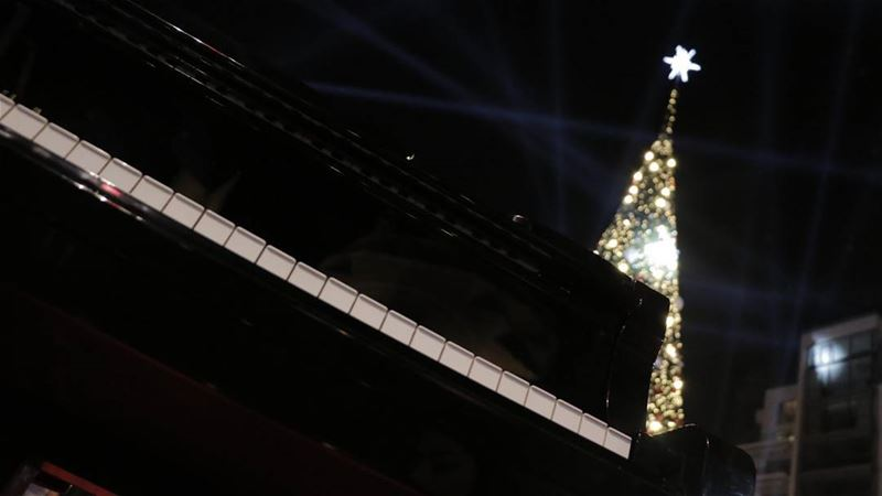 Definitely the most magical time of the year... piano jazz blues ... (Downtown Beirut)