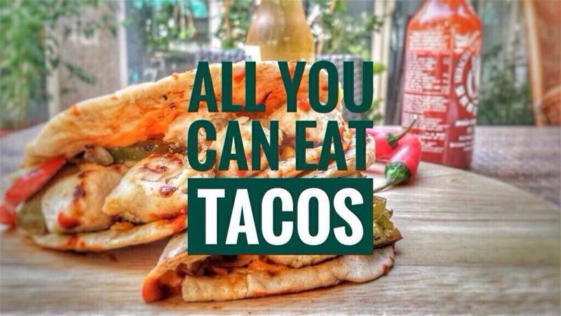 "Attention Taco Lovers!! Our Thursday Taco Night Ritual ""ALL YOU CAN EAT... (Em's cuisine)"