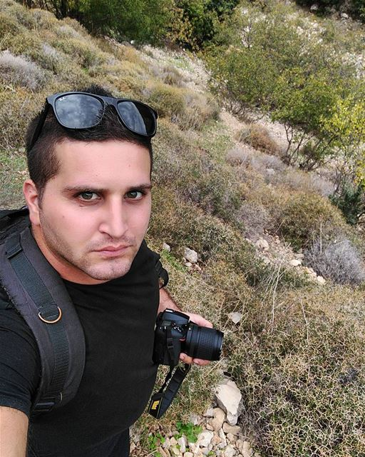 nikonlebanon shooting photography nikon selfie mountain hiking ... (Zebquine South Lebanon)