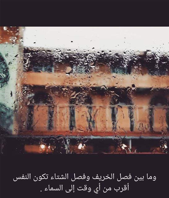 مطر شتاء خريف حين_تمطر rain winter decmberphotochallenge photography ... (Brîtel, Béqaa, Lebanon)