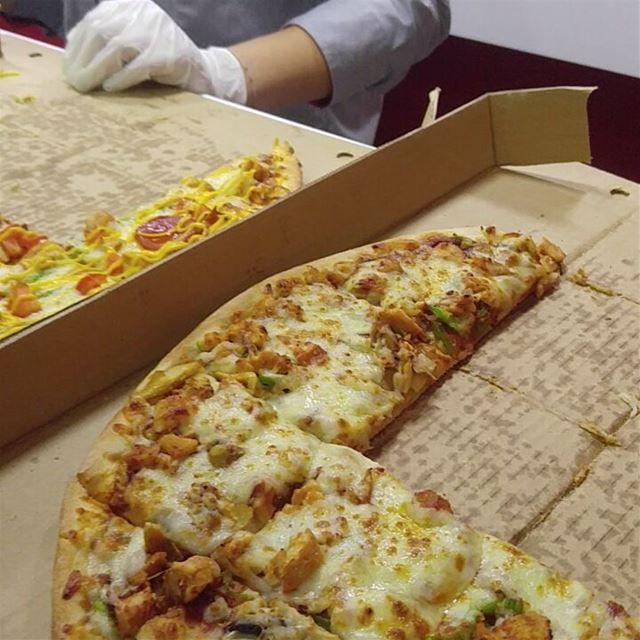 New branch of @pizzaninilebanon restaurant like homemade pizza pizzas ... (Mar Mikhael-Armenia The Street)