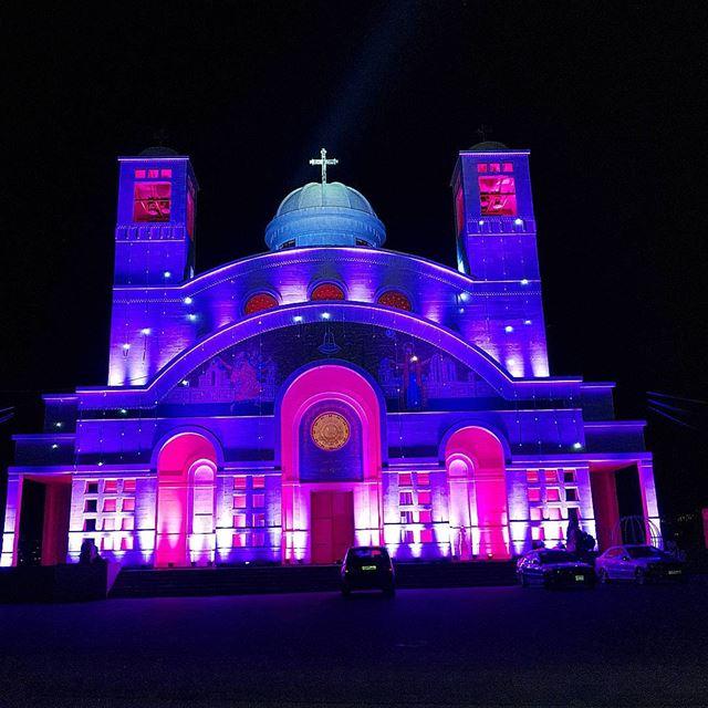 Spirit of christmas🇱🇧❤🌲 nofilter christmasdecorations colorful ... (Maghdoûché, Liban-Sud, Lebanon)