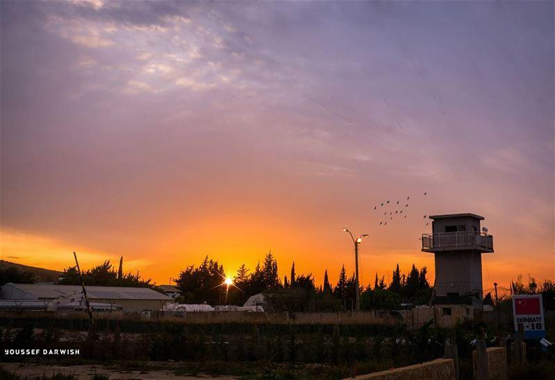 zebquine nikond7100 nikon nikonlebanon meetlebanon sunset unifil ... (Zebquine South Lebanon)