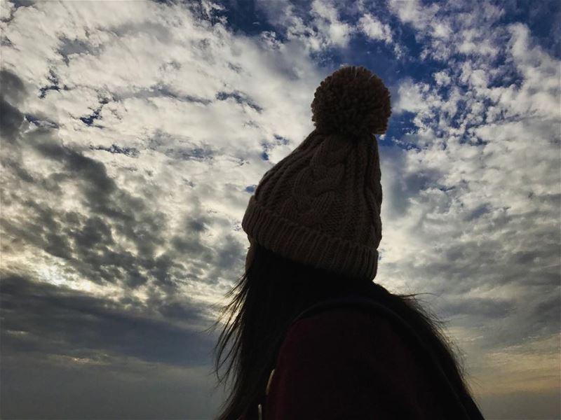 Never stop looking up .☁️🌤 positivevibes amazingday marvelous_shots ... (Jbeil جبيل)