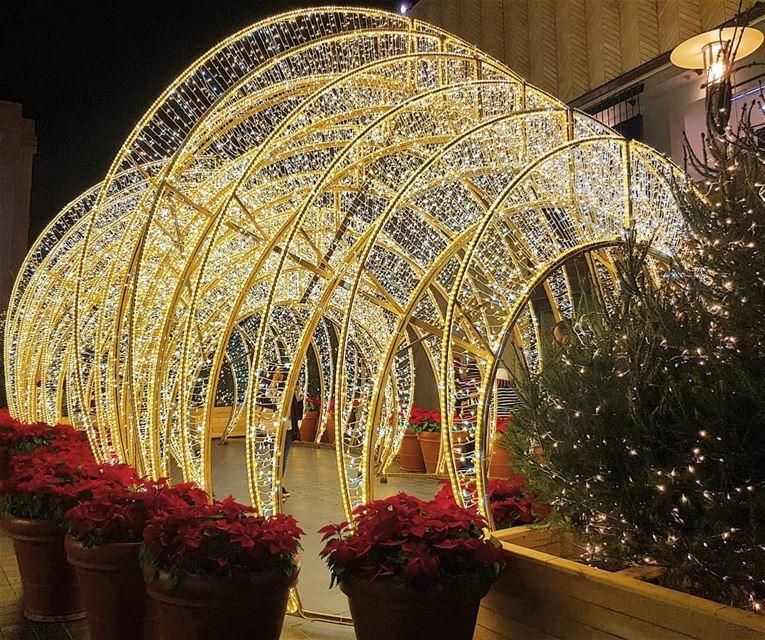 beirut beirutsouks christmas lights ... (Beirut Souks)