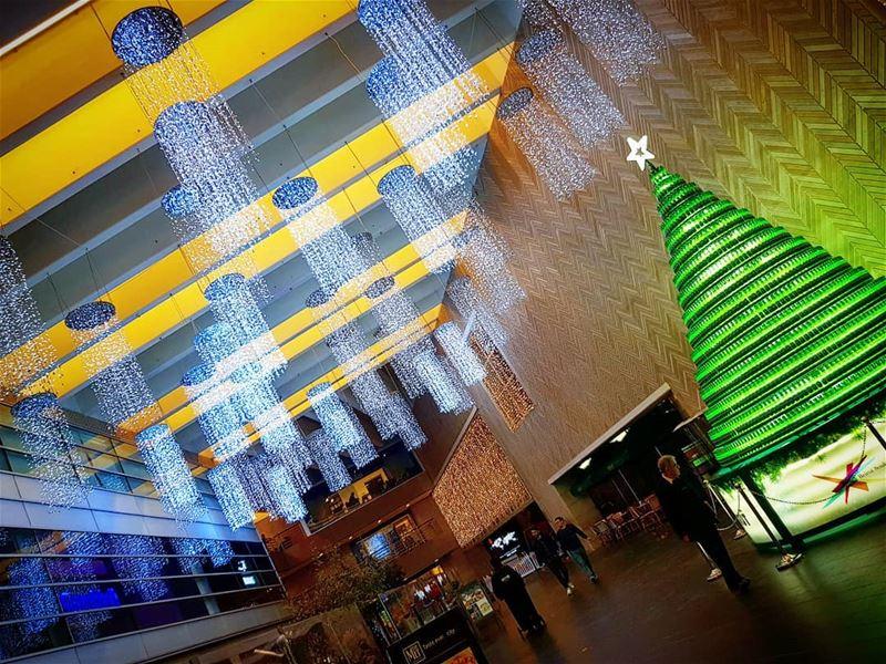 😍 christmastree beirutbeer beirut beirutsouks christmas lights ... (Beirut Souks)