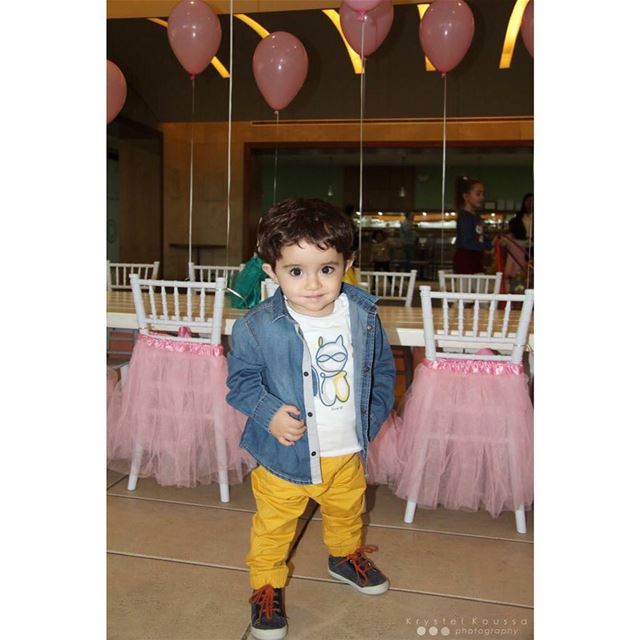 Cute little Prince Brother! 👑Book your birthday photography now on +96170 (Jeita Country Club)