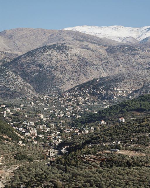 Villages of snow ❄️ (Hasbaya)