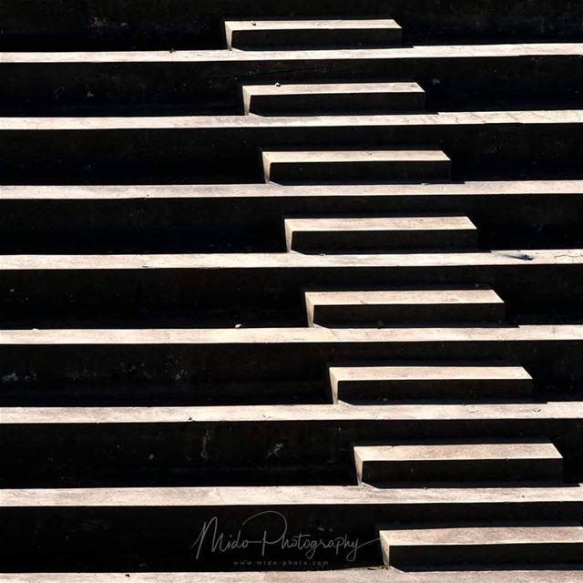 Stairway to heaven minimalism minimal abstractart midophotography ... (Bikfaïya, Mont-Liban, Lebanon)