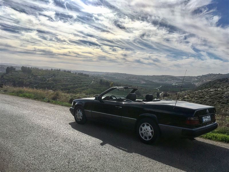 Riding convertible 300 days a year... livelovelebanon ... (Nabatieh Governorate)