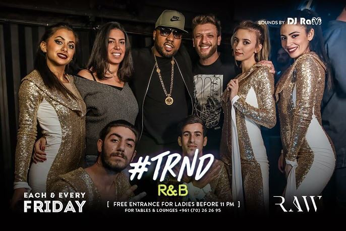 trnd  friday @rawbeirut with the one and only @mimslife with my ❣️ @reemlu (RAW Beirut)