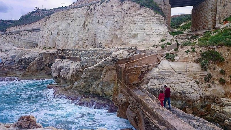 exploring nakoura 🚶 livelovenakoura takenbyme ptk_Lebanon ... (Naqoura)