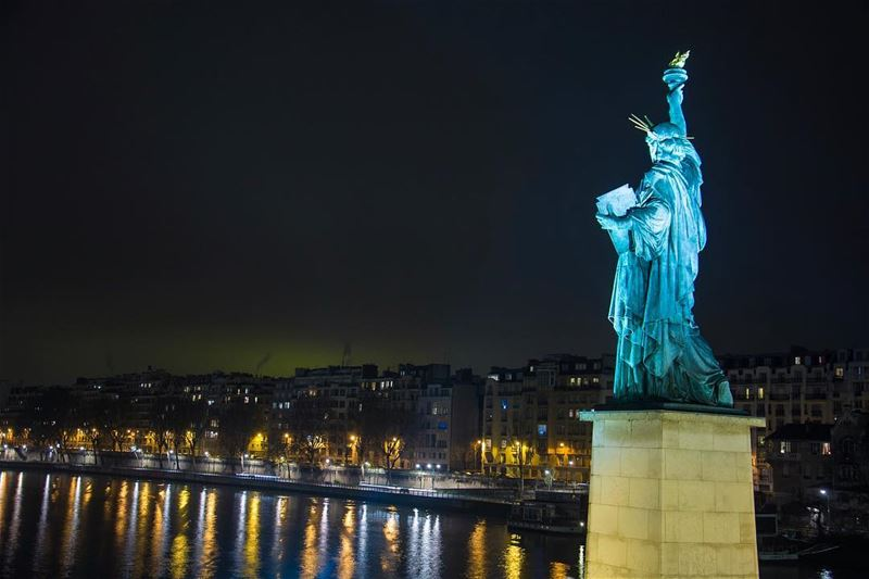 An NYC touch... shot in paris france statusofliberty ...