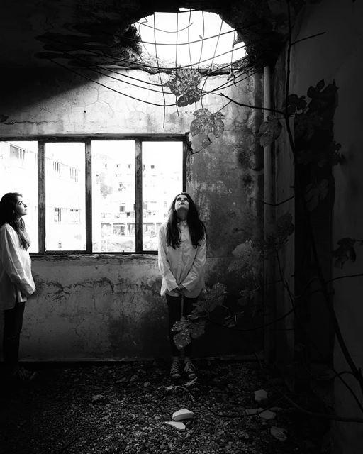~ War Scars ~... abandoned abandonedplaces abandoned_junkies ... (Beirut, Lebanon)