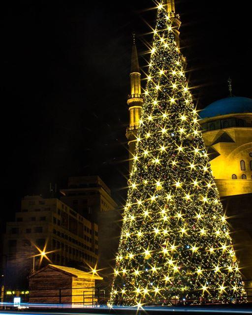 Beirut christmas christmastree citylights lebanon_hdr super_lebanon... (Downtown Beirut)