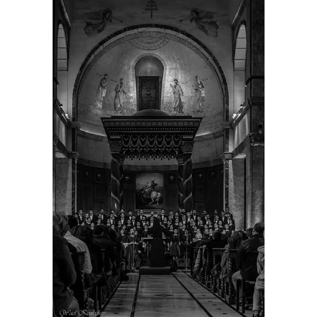 @saintrafqainstitutechoir in concert with @beirutchants   concert  choir ... (St. George Maronite Cathedral, Beirut)