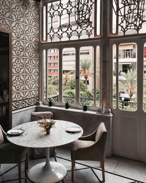 Lunch here ✨👌🏻 Beirut architecture iamatraveler shotoniphone.....-... (Beirut, Lebanon)