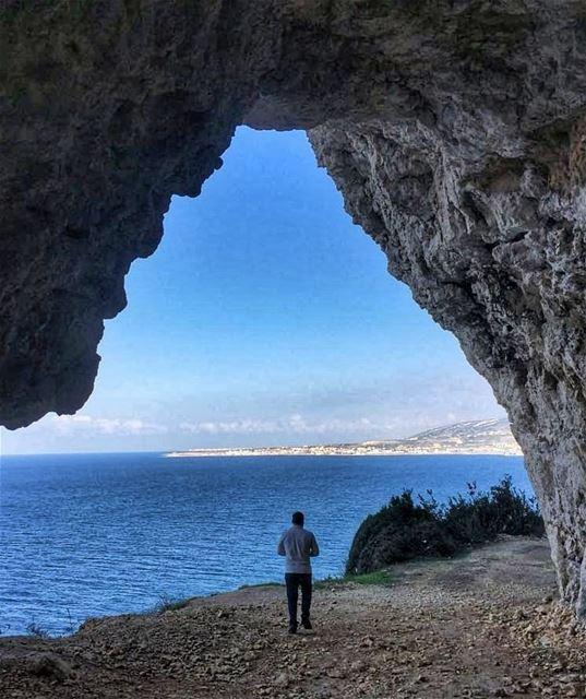 There will always be a horizon looming nature me livelovebeirut chekka... (Chekka)