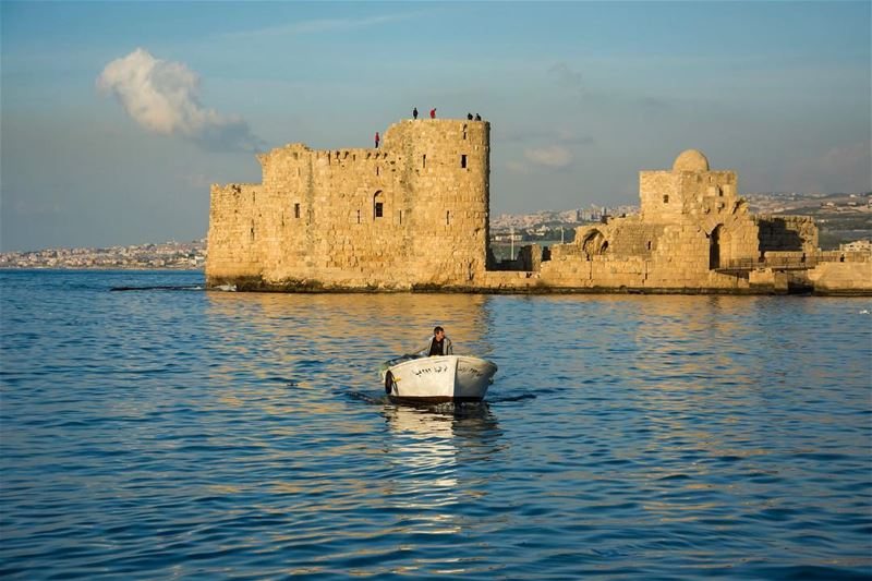 Back to shore...Shot in sidon lebanon instagram seaside oldcity ...