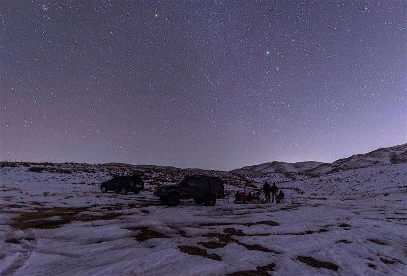 Enjoying the show 💫✨ meteorshower livelovelebanon lebanon ptk_lebanon ...