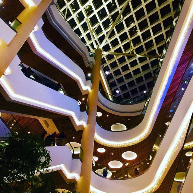 Curves, circles and lines!  abclebanon  mall  design  architecture  beirut... (ABC Verdun)