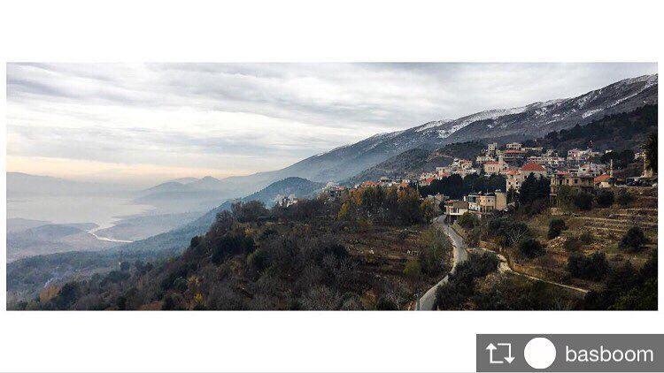 "Repost from @basboom ""Winter is coming"" december winter saghbine ... (Saghbin, Béqaa, Lebanon)"