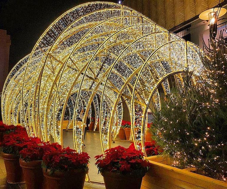 Christmas isn't a season it's a feeling ( Edna Ferber) sparkle joy... (Beirut Souks- Downtown)