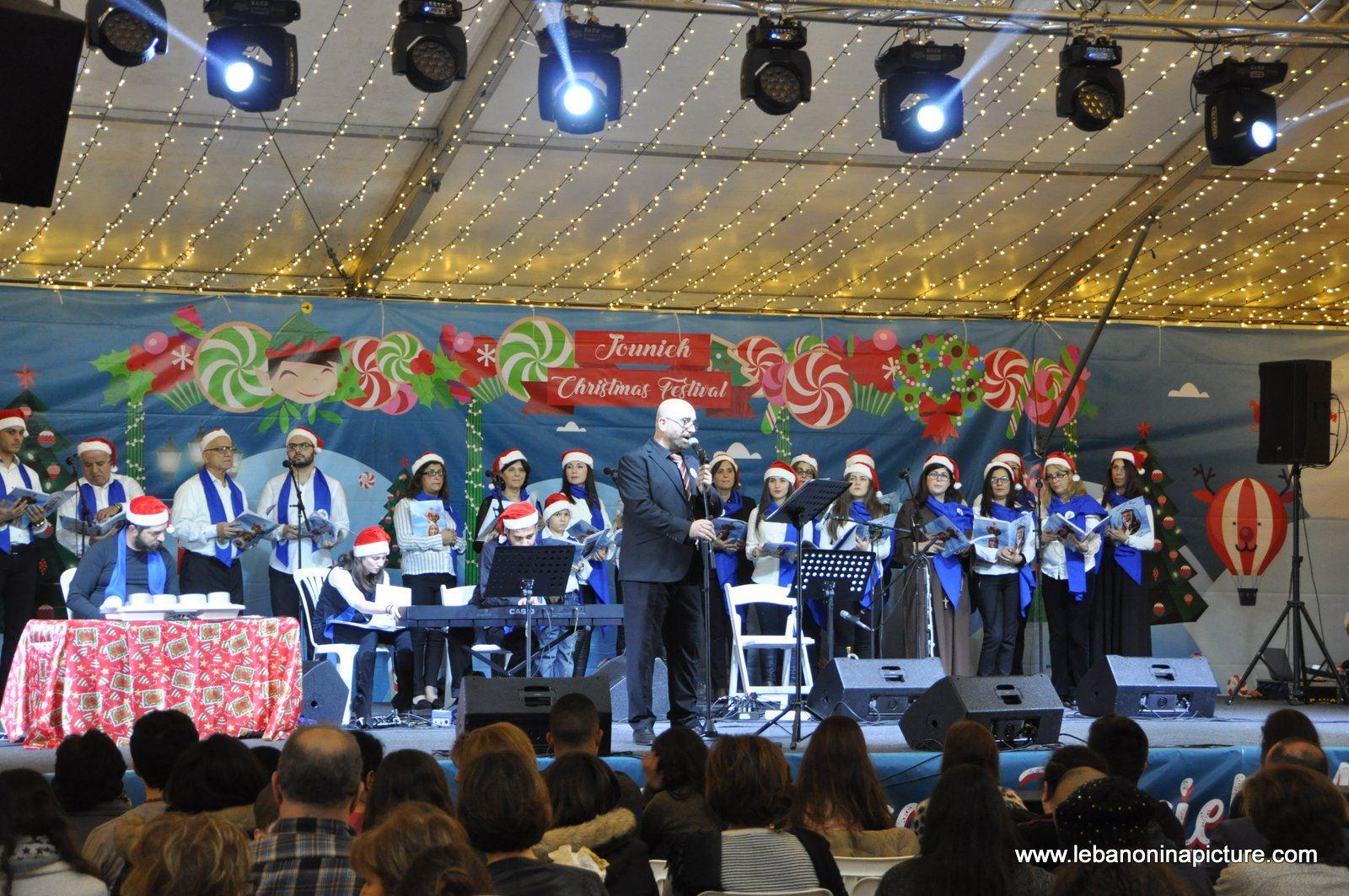 Jounieh Christmas Tree and Christmas Festival 2017 (Jounieh Lebanon)