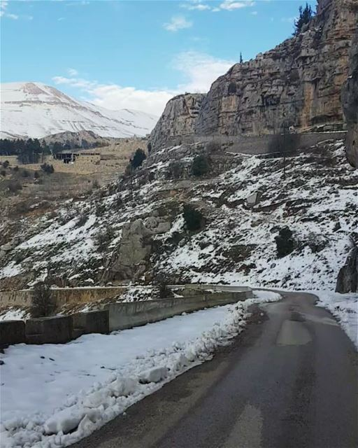 tb timelapse video ehden northlebanon sunday hiking snow winter ... (Ehden, Lebanon)