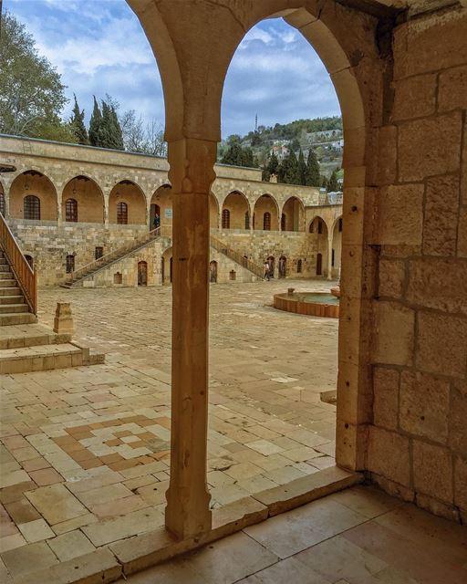 Kodak moment from a historical vantage point .... naturalbeauty ... (Beit Ed-Deen, Mont-Liban, Lebanon)