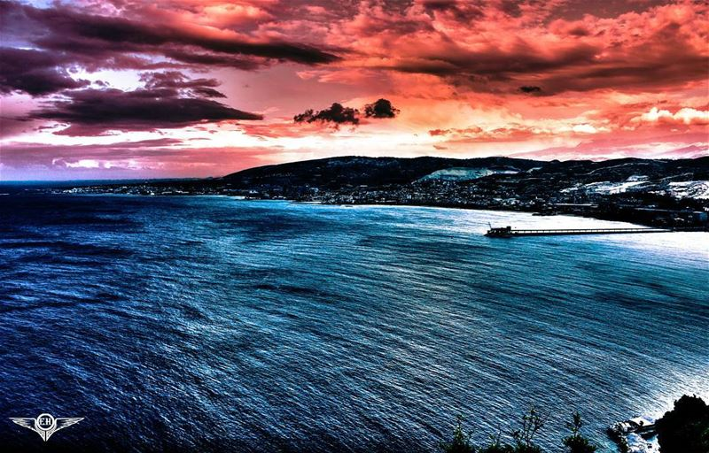 The sea is only the embodiment of a supernatural and wonderful existence. - (Saydet El Nourieh)