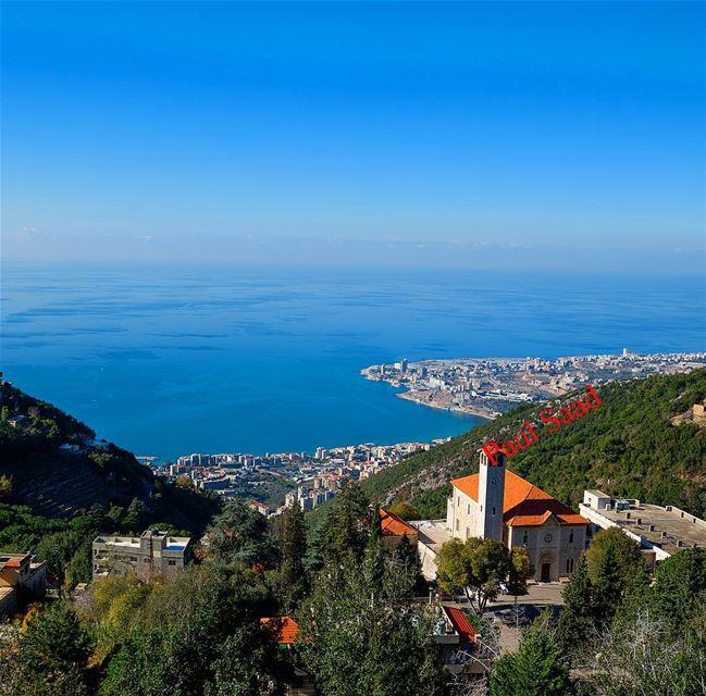 ghosta lebanon lebanoninapicture lebanonweekly jounieh sea ... (Ghosta, Mont-Liban, Lebanon)