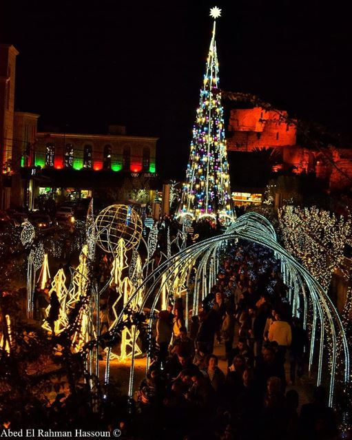 Lovely Christmas vibes from Byblos Jbeil LiveLoveByblos ... (Byblos - Jbeil)