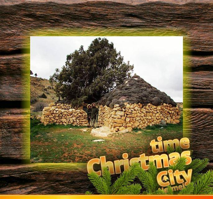 Hermel hermel_city oldhouses christmas christmasspirit lebanon jord... (El Hermel, Béqaa, Lebanon)