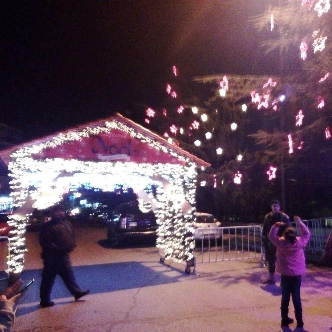 The Bikfaïya Christmas villageBy: @antthonyz bikfeiya christmas ... (Bikfaïya, Mont-Liban, Lebanon)