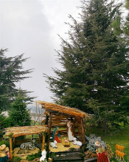 _______________________________________ MerryChristmas MerryChristmas2017... (Annâya, Mont-Liban, Lebanon)