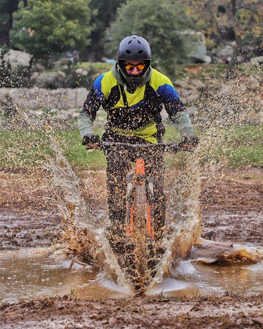I pretty much operate on Adrenaline and Ignorance ... (Muddy Mountain)