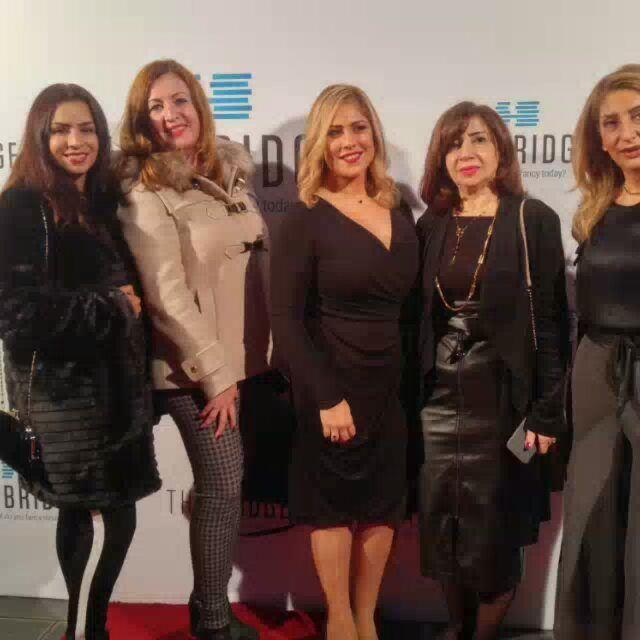 It was an amazing night with a7la friends media press thebridge ... (The Bridge)
