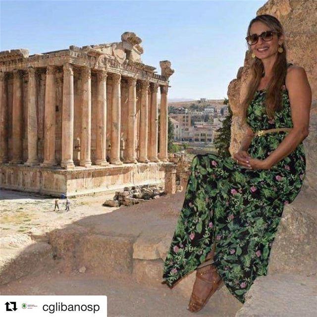 Repost @cglibanosp O LÍBANO É PARA TODOS!Relato de viagem da primeira... (Baalbeck, Béqaa, Lebanon)
