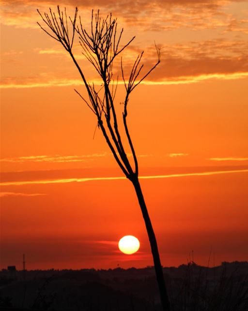 🌅.... sunset sunsetporn sunsetpics landscape landscapephotography... (Kfar Roummâne, Beyrouth, Lebanon)