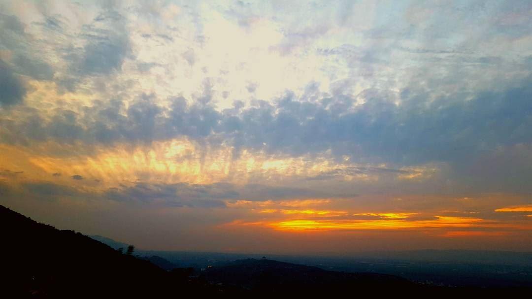 No sunset resembles another sunset_addict sunset_pics sunset_lovers_ ... (Miziâra, Liban-Nord, Lebanon)
