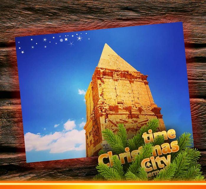 Hermel hermel_city qamouaa christmas christmasspirit lebanon jord ... (El Hermel, Béqaa, Lebanon)