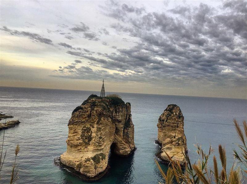 Morning from Beirut 😃 lebanon beirut raouche morning positivevibes ... (Beirut, Lebanon)
