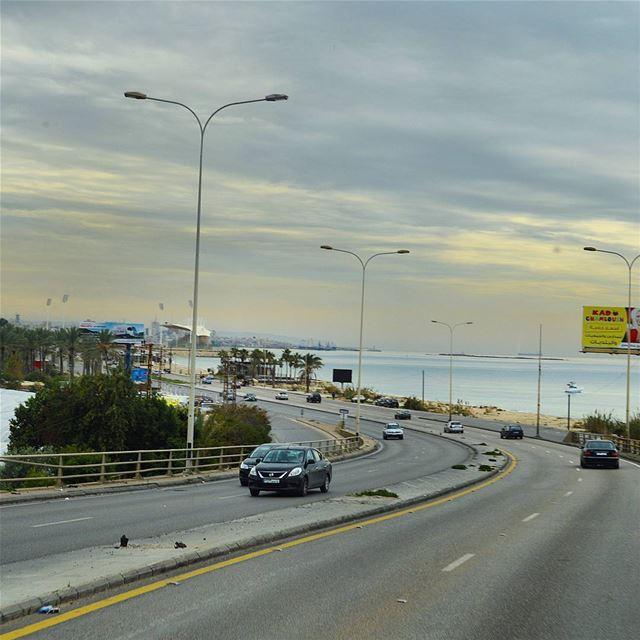 Goodmorning lebanon🇱🇧🇱🇧🍁🌲 goodmorning goodvibes road ... (Sidon, Lebanon)