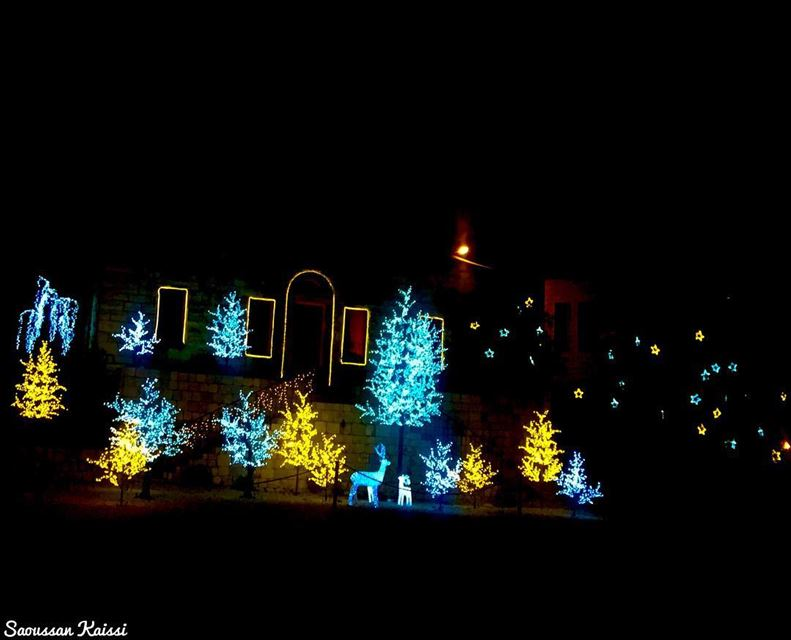 Tonight lights  christmastime  nightphotography ...